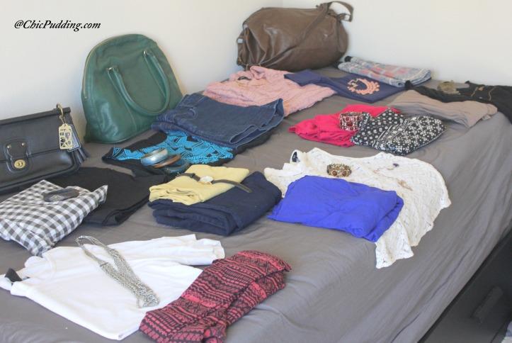 Spain Ensembles - How do I travel pack