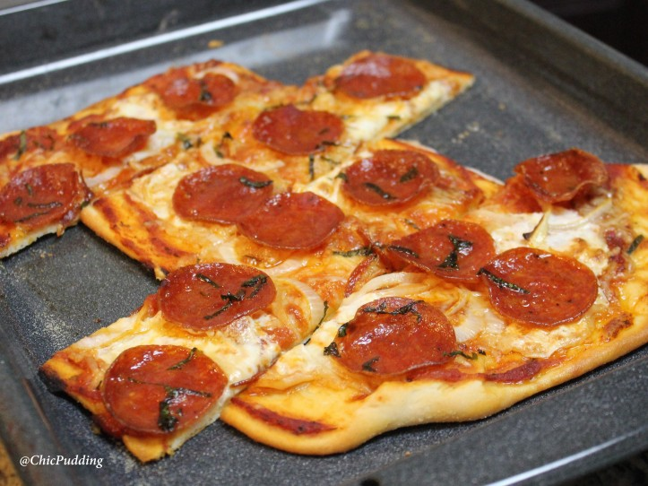Pizza - Proscuitto and Pepperoni8