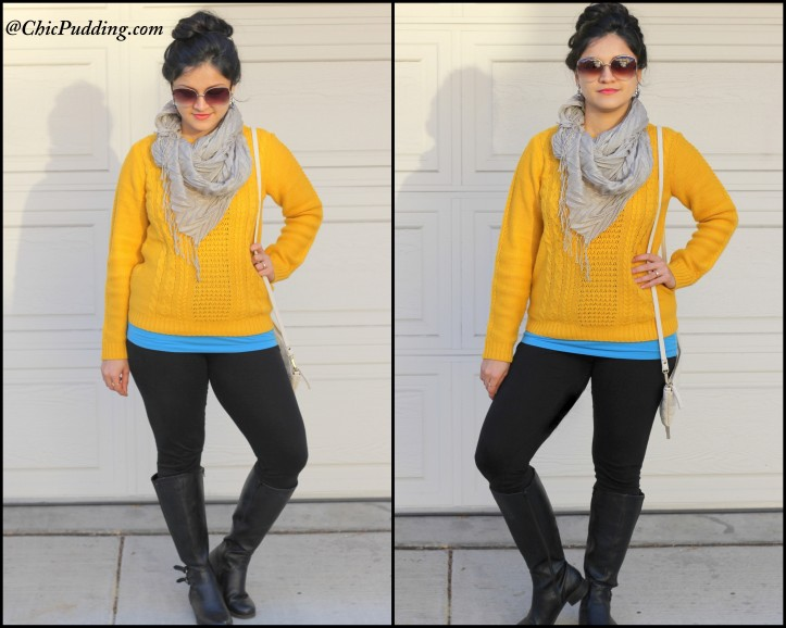 Yellow sweater-001