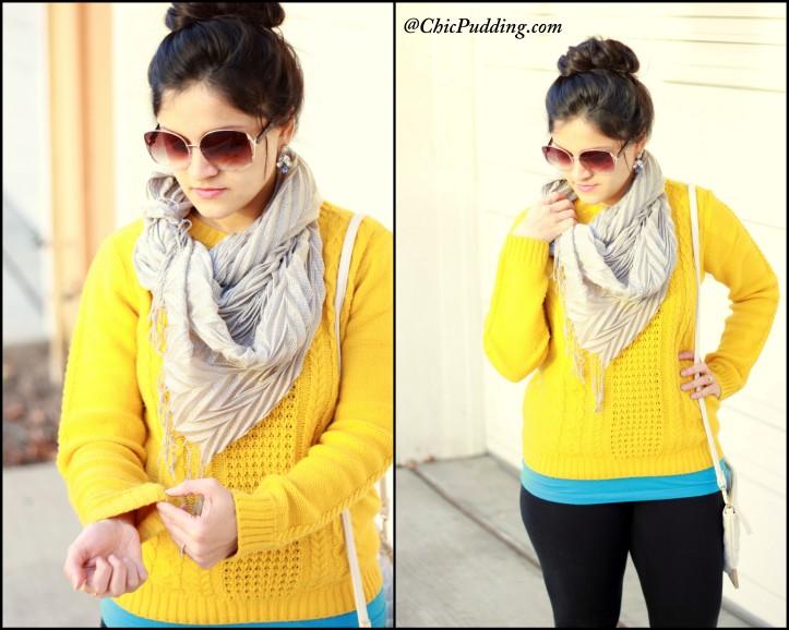 Yellow sweater-002