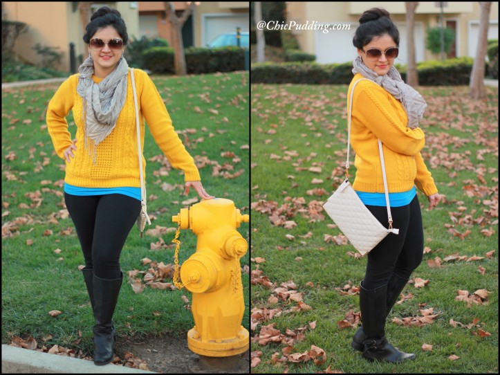 Yellow sweater-004